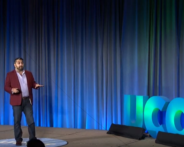 Brian Talebi Speaks At UCOT2018 About Preparing For The Future of Jobs