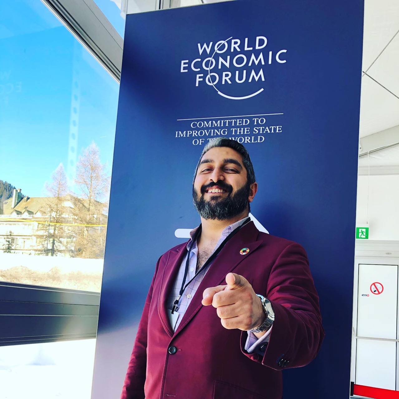 Ahura AI CEO Announcing Launch Of Beta Product During The World Economic Forum In Davos